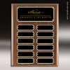 Click this Image to visit the   Laminate Walnut Perpetual Plaques category.