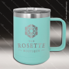 Click this Image to visit the Personalized Teal Drinkware Engraved category.